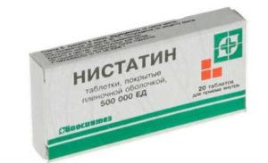 Нистатин таблетки от чего помогает