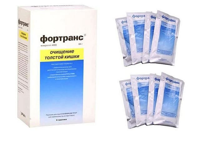Инструкция по применению Фортранс для очищения кишечника